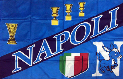 Bandiera Napoli Napule Core Mio
