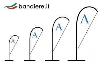 Bandiere a Vela Bandiere a Goccia