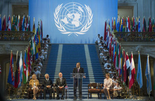 Bandiere di organizzazioni internazionali