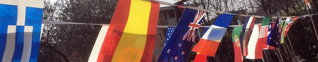 bandiere per feste e party per bambini