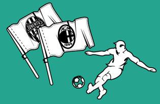 Bandiere Calcio italiano