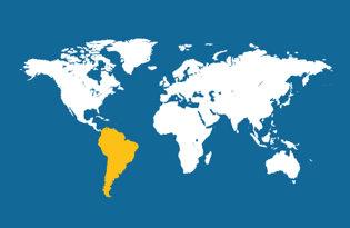 Bandiere Sud America