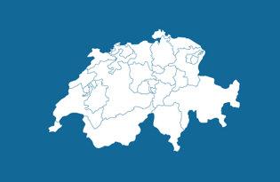 Cantoni Svizzeri, Bandiere dei Cantoni Svizzeri