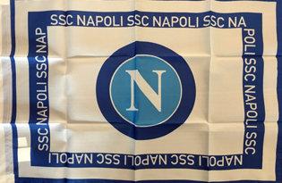 Bandiera Napoli.Calcio