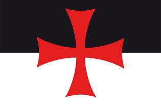bandiera dei Cavalieri Templari