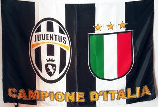 Bandiera Juventus Campione d'Italia