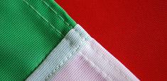 dettaglio finitura tricolore italiano