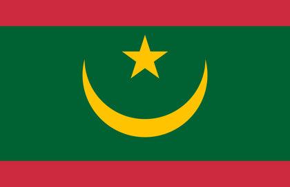 fahne Mauretanien, flagge von Mauretanien