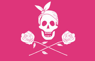 Bandiera Principessa Pirata