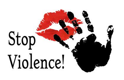 bandiera Stop Violence