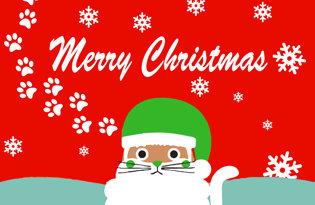 Bandiera Coniglietto di Natale