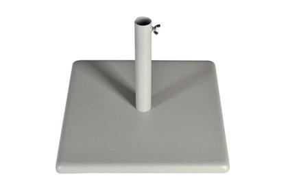 Base in ferro quadrata per esterno