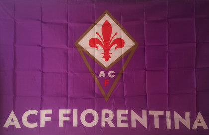 Bandiera ACF Fiorentina Ufficiale