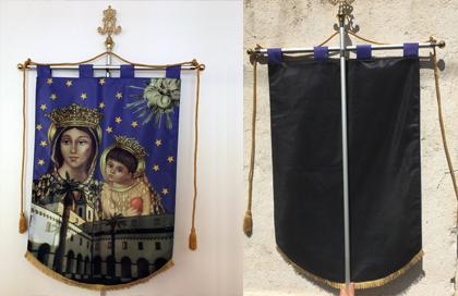 labaro della Madonna dell'Arco