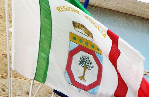 bandiera della Regione Puglia