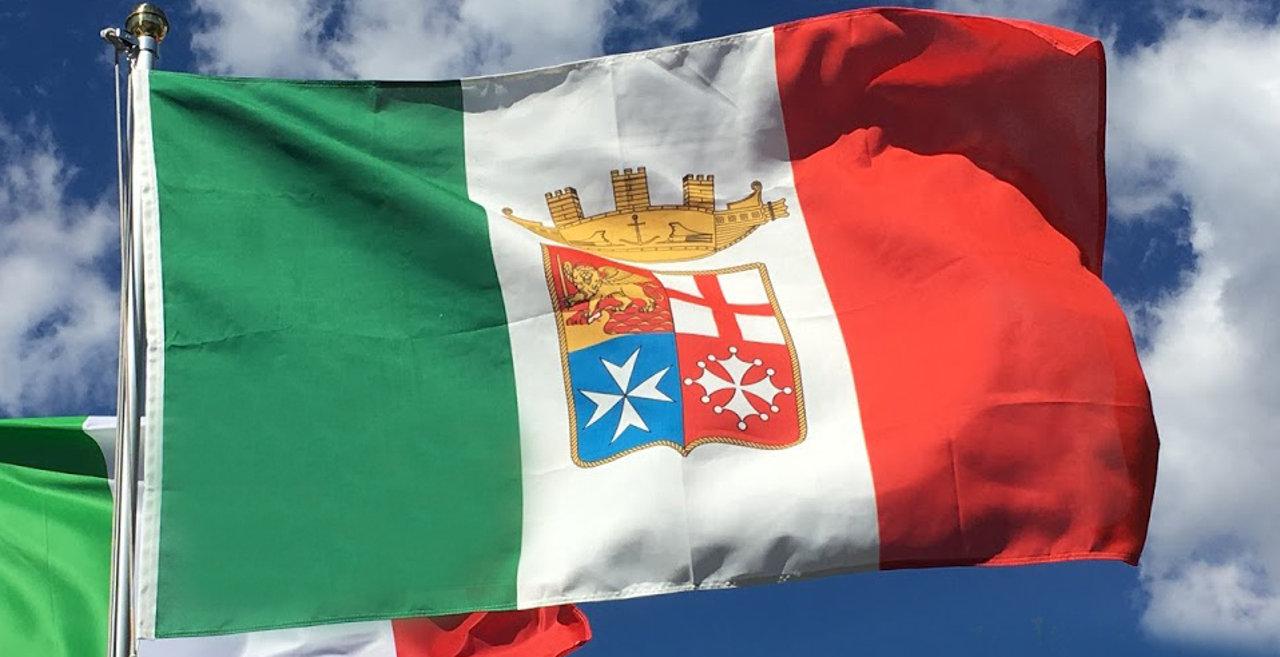 bandiera della Marina Militare Italiana