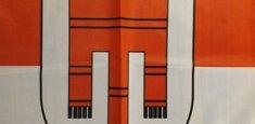 Dettaglio stampa sublimatica bandiera Vorarlberg