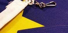 Moschettone bandiera Unione Europea