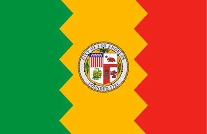 Bandiera Los Angeles