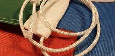 Guaina e corda bandiera Italia Savoia