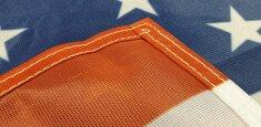 Doppia cucitura perimetrale bandiera Stati Uniti d'America - USA