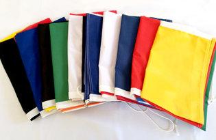 10 bandiere a scelta (tricolori + Europa)