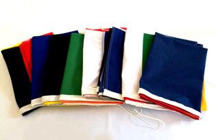 8 bandiere a scelta (tricolori + Europa)