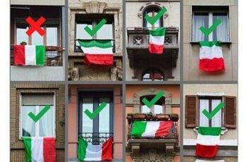 SAI VERAMENTE TUTTO SULLA BANDIERA ITALIANA?
