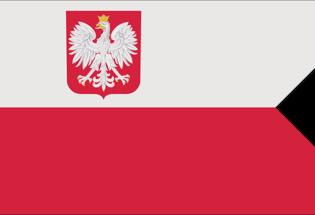 Bandiera Polonia Marina Militare