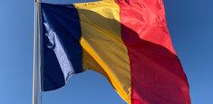 Bandiera della Romania (steagul rominesc o drapelul romaniei)