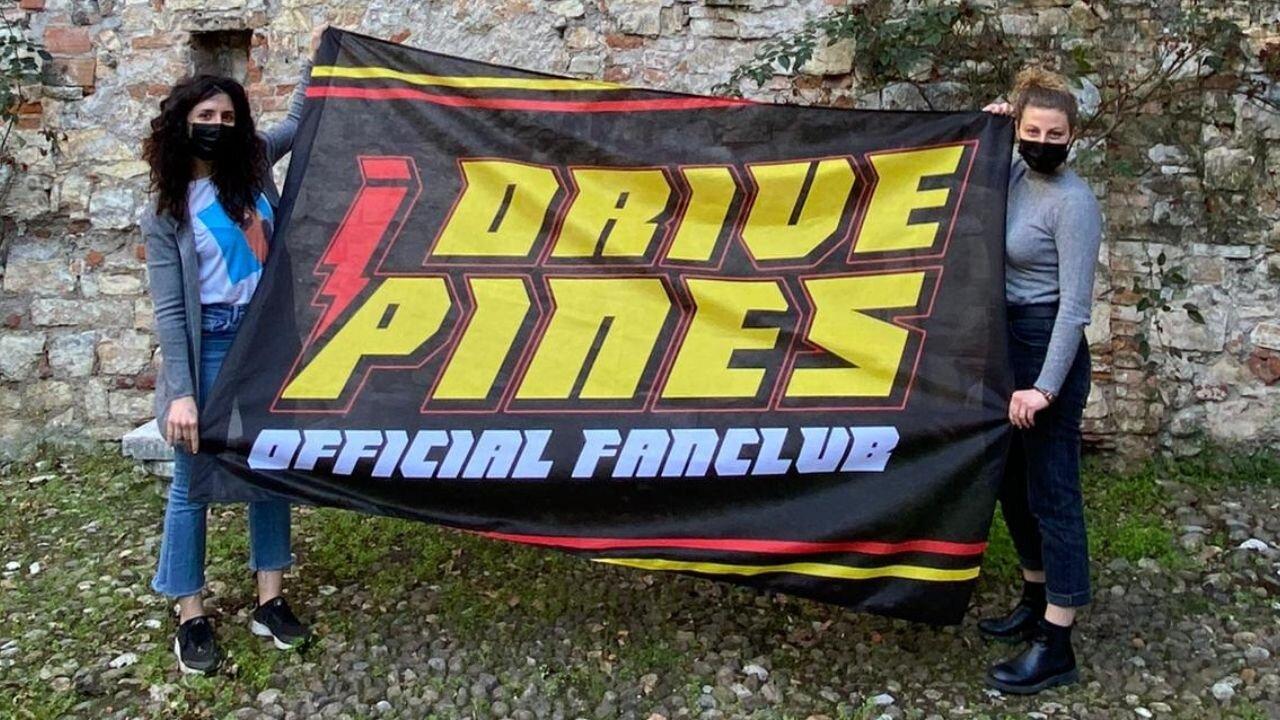 Bandiera personalizzata pilota Guido Pini