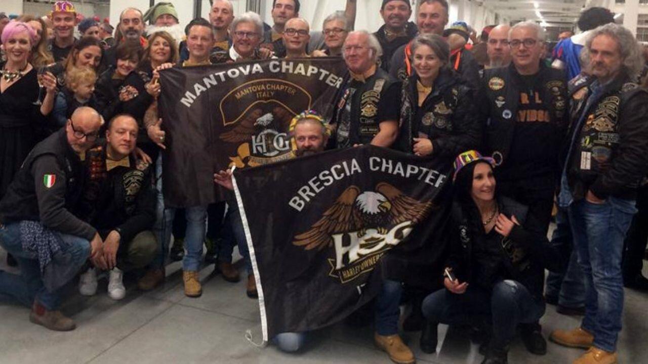 Bandiera personalizzata Brescia Chapter