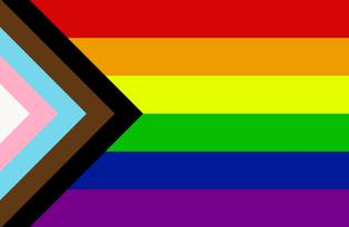 Bandiera Progress Pride