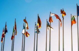 Set bandiere Unione Europea