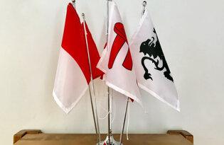 Bandiere delle Porte di Milano
